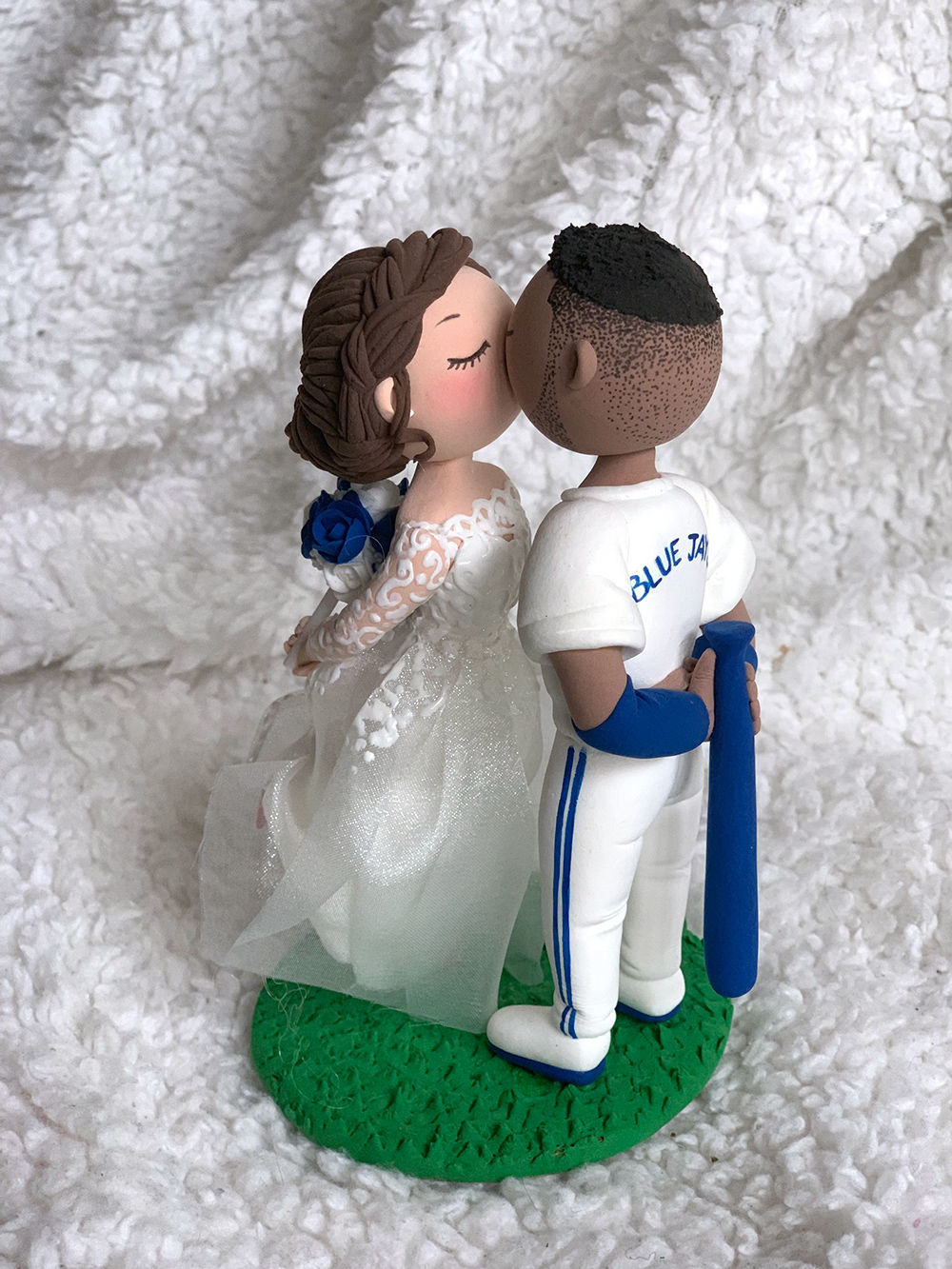 Picture of Baseball Wedding Cake Topper