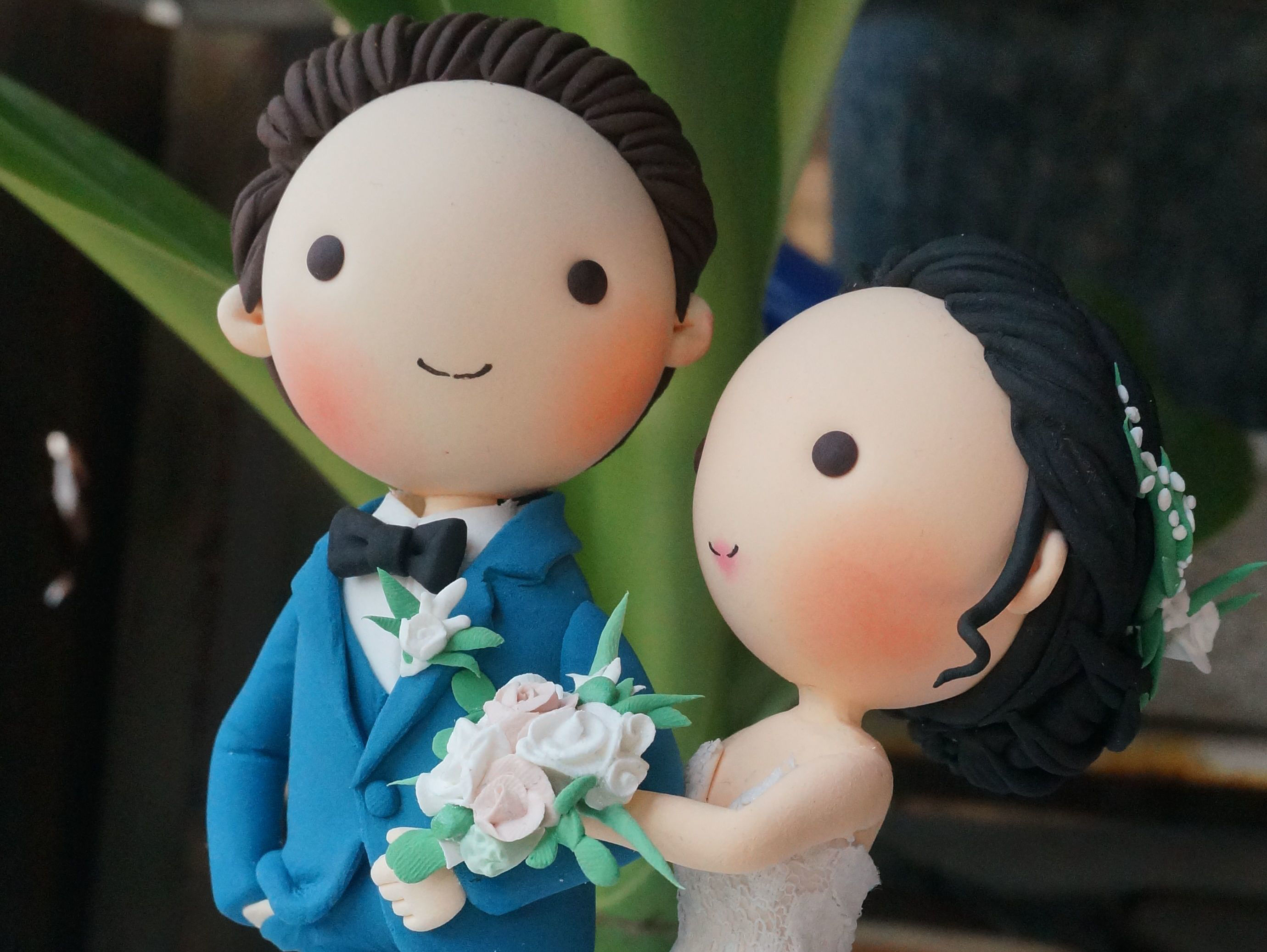 Picture of Unique Wedding Cake Topper