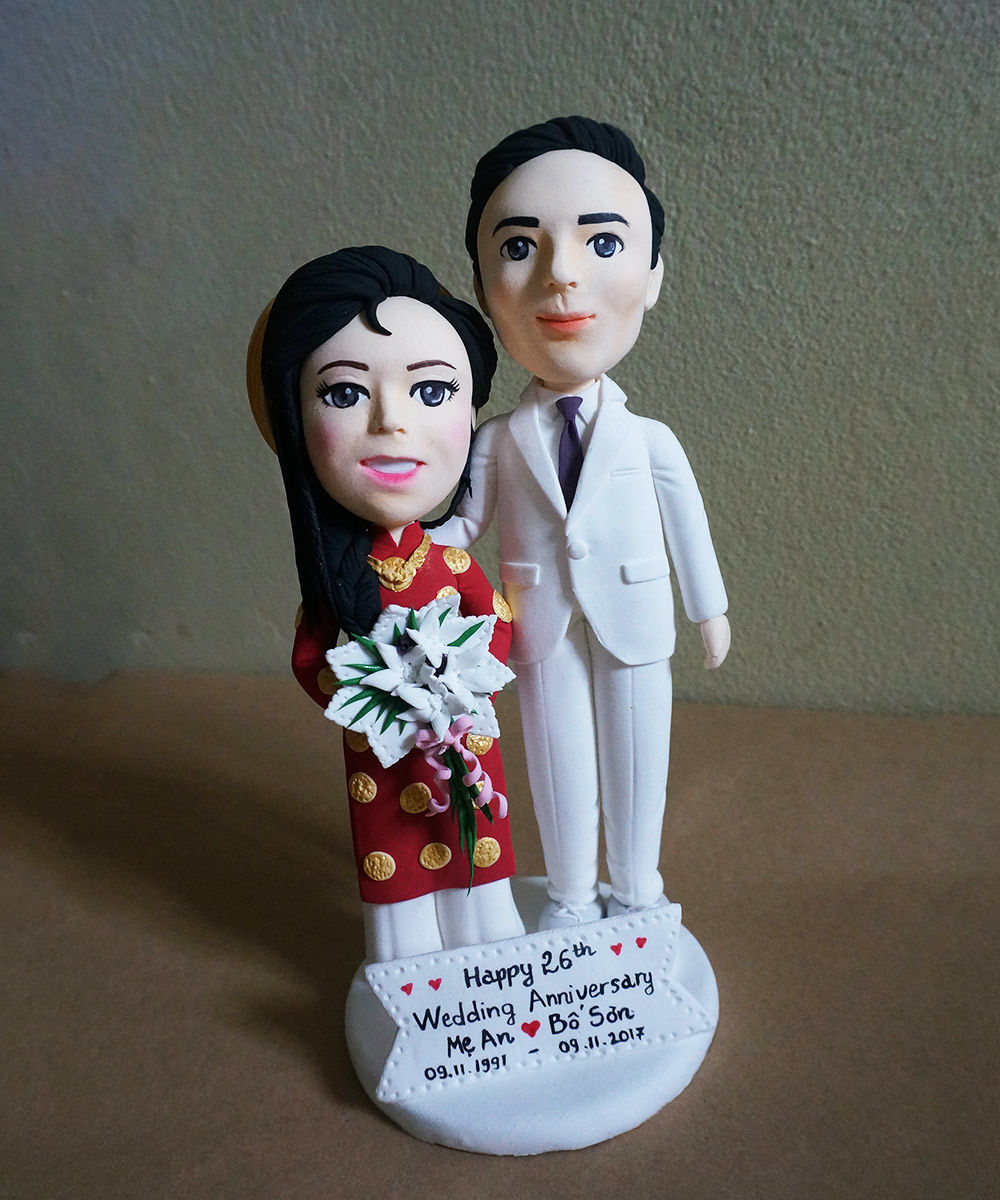 Picture of Anniversary Wedding Cake Topper
