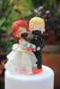 Picture of Elopement Quarantine wedding cake topper