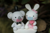 Picture of Quarantine wedding topper, Koala & Rabbit wedding topper