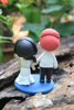 Picture of International wedding cake topper