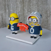 Picture of Minion birthday cake topper, Happy 60th birthday