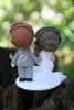 Picture of Hockey Wedding Cake Topper